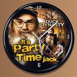 Duck Dynasty Party Time Clock