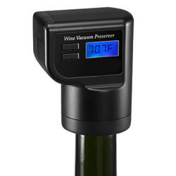 Digital Wine Bottle Vacuum