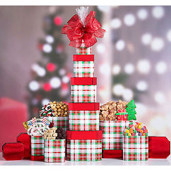 Sweet Holiday Gift Tower