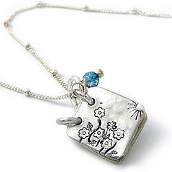And She Lived Happily Ever After Storybook Necklace