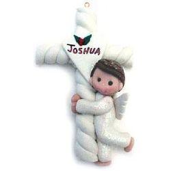 Personalized 1st Communion Boy Christmas Ornament