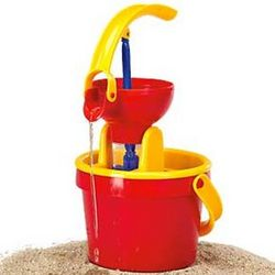 Toy Water Bucket with Pump