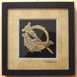 Tara Brooch in Black Frame
