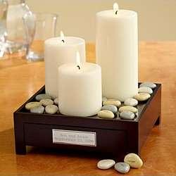 Meditation Candle Garden