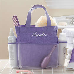 Lavender Spa Personalized Shower Caddy