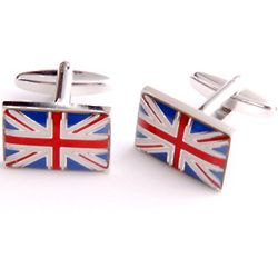British Flag Dashing Cufflinks