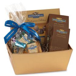 Ghirardelli Truffle Gift Basket