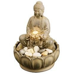 Illuminated Buddha Relaxation Fountain