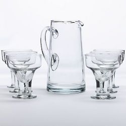 Cool Cocktails Urban Edge Margarita Glass Set