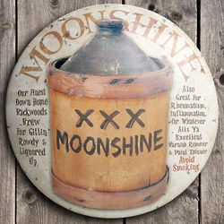 Moonshine Jug Sign