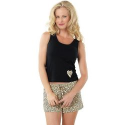 Leopard Lounge Short Pajamas