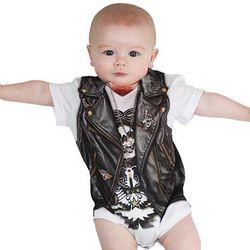 Biker Baby Bodysuit