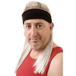 Black Mamba Headband Mullet Wig