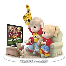 Every Day is a Touchdown with You Redskins Figurine