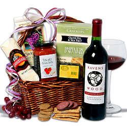 Cabernet Sauvignon Wine Gift Basket