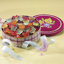 Gummy Butterflies Gift Tin
