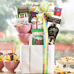 Sundae Special Gift Basket Tote