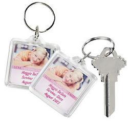 Custom Photo Breast Cancer Awareness Key Chains