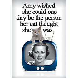 Purrrfect Person Birthday Card