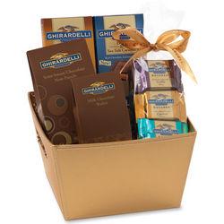 Ghirardelli Chocolates Gift Basket