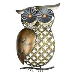 Metal Owl Wall Decor