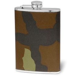 8-Ounce Camouflage Stainless Steel Flask