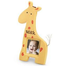 Giraffe Ceramic Picture Frame