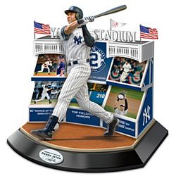 New York Yankees Legends of the Game Derek Jeter Sculpture