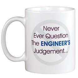 Personalized Never Ever Question Mug