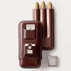Weston Leather Cigar Case