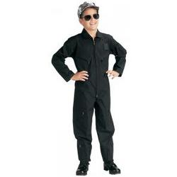 Children's Black Flightsuit