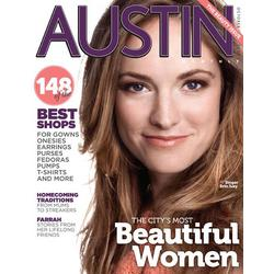 Austin Monthly Magazine Subscription