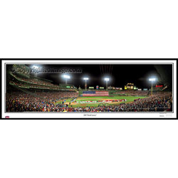 Boston Red Sox 2007 World Series Game One Art Print