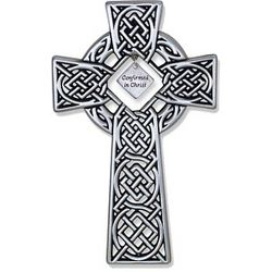 Engravable Celtic Confirmation Cross