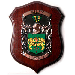 Large Deluxe Family Crest Plaque