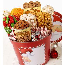 Peek-A-Boo Santa Snack Assortment