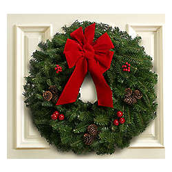 Classic 30 Inch Christmas Wreath