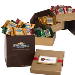 Everyday Tri-Level Ghirardelli Gift Box