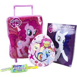 My Little Pony Mini Rolling Backpack Basket