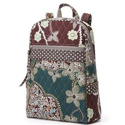 Becky Desert Floral Quilted Backpack