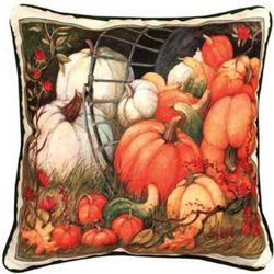 Pumpkin Garden Pillow