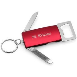 Bottle Opener Personalized Key Chain