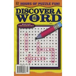 Fun 'N Easy Discover A Word Magazine Subscription - 13 Issues