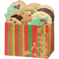 Festive Holiday Cookie Gift Box