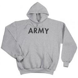 Army PT Hooded Pullover Sweatshirt