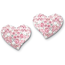 Swarovski Crystal Alana Heart Earrings