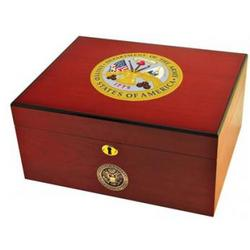 US Army 50 Cigar Volume Humidor