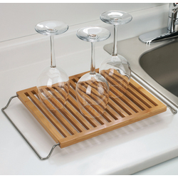 Bamboo Dish Drying Rack