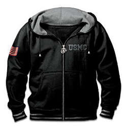 USMC Freedom Fighter Men's Hoodie