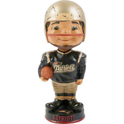 New England Patriots Retro Bobblehead